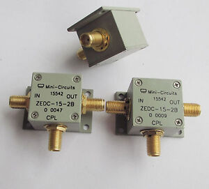 1pc Mini Circuits Zedc 15 2b Mini 1 1000mhz Sma Coaxial Directional Coupler Evb