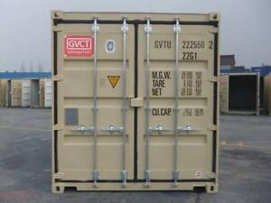 2 X 20ft one trip Shipping Containers Incl Delivery To Santa Rosa Ca