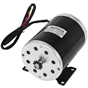 1000 W 48v Dc Electric Motor W 25 Sprocket ty1020 W Mounting Bracket