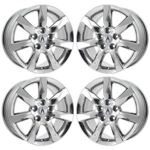 17 Acura Tl Pvd Chrome Wheels Rims Factory Oem Set 4 71801