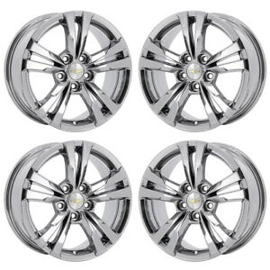 17 Chevrolet Equinox Pvd Chrome Wheels Rims Factory Oem Set 4 5433