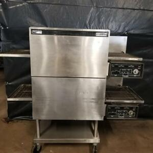 Lincoln 1132 Double Stack Electric Conveyor Ovens 18 Wide Conveyor