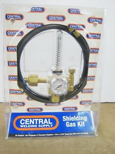 Nos Harris Cga E 4 No 355ar Flowgauge Flowmeter Regulator Shielding Gas Kit