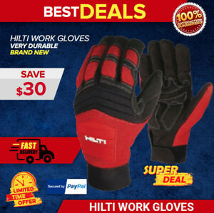 Hilti Men s Work Gloves Brand New Exclusive Fast Shipping