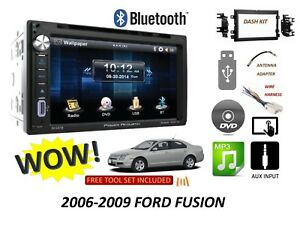 2006 2009 Ford Fusion Bluetooth Touchscreen Dvd Cd Usb Car Radio Stereo