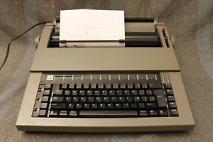 Vintage Sears The Electronic Communicator 3 Electric Typewriter Model 268 53070