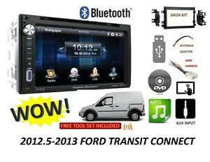 2012 5 2013 Ford Transit Connect Bluetooth Touchscreen Dvd Usb Car Radio Stereo