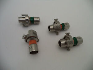 Lot Of 4 Gyrus Acmi Eta l Adapter