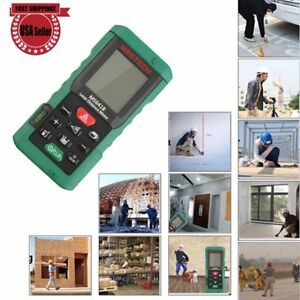 80m 262ft Mastech Digital Laser Distance Meter Lcd Finder Measure Tool Us