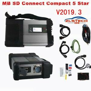 New V2019 3 For Mb Sd Connect Compact 5 Star Diagnostic Code Reader Scan Tool