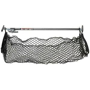 Ratcheting Cargo Bar Storage Net Trunk Organizer Car Van Truck Bed Accessory New