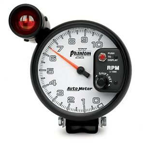 Autometer 7599 Phantom Ii Shift Lite Tachometer