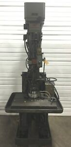 Chas G Allen Upright Column Vertical Automatic Drill Press 21 x26 480v 3