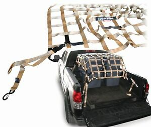 Quarantine Qss lbn Exterior Cargo Net Mounts To Truck 85in Length X 64in Width