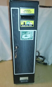Cm 222 1 5 Dollar Bill Changer Complete Working Unit W New Lock And Keys