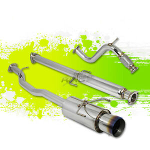 For 94 97 Accord H22 F22 Racing Catback Exhaust 4 5 Muffler Burn Silencer