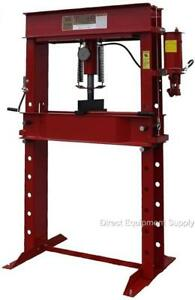 50 Ton Hydraulic 2sp P r H frame Shop Press Usa 100 150