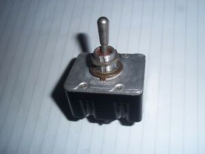 Military Aircraft Toggle Switch honeywell Type 91929 4p0le On off 4tl1 2