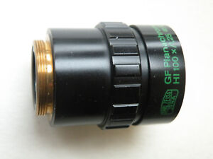 Zeiss Microscope Phase Objective Gf Plan Phv Hi 100x 1 25 Inf 0 17 a Adapter