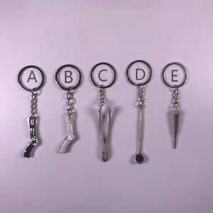 Dental Teeth Key Chains Type A b c d e For Dentist Festival Gift Fashion