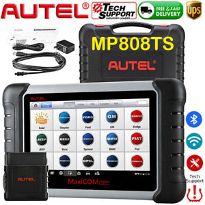 Autel Maxipro Mp808ts Obd2 Car Diagnostic Scanner Ecu Programmer Key Coding Tpms
