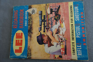 LEE MANUAL #1 first edition reloading book gunpistolrifle