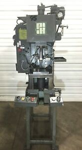 Running Ph Ogb 6 6 Ton Hydraulic Press 15 Gallon W Sensors Dual Safety Buttons