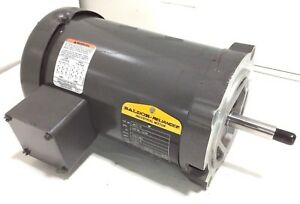 New Baldor Jm3115 1hp Electric Motor 230v 460v 3phase 3450rpm 56j Frame
