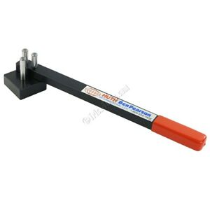 Huth Manual Hand Operated Rod Bender For Round Rod Or Flat Bar