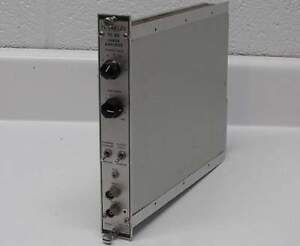 Tennelec Tc 211 Linear Amplifier Nim Bin Modular