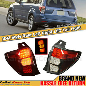 Rear Lamps Tail Lights For Subaru Forester 09 13 Led Jdm Style Left Right Side