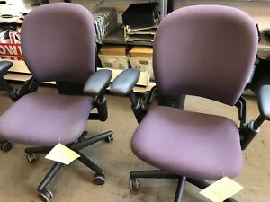 Chair W Casters By Steelcase Leap V1 2003