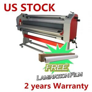 67 Full auto Pneumatic Cutting wide Cold Laminator With Heat Assisted 110v Usa