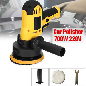 700w 220v Electric Car Polisher Waxing Machine Polishing Buffing Waxer Tool Us