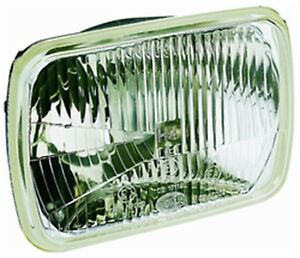 Hella 003427011 190x132mm Headlamp Rectangle Clear Lens