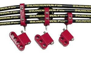 Taylor Cable 42503 V 8 Vertical Wire Loom Kit