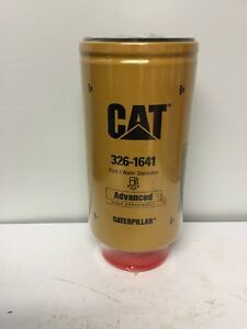 Caterpillar Fuel Filter Part 326 1641 Old Part 1r 0781