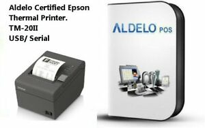 Aldelo Pos Pro Software And Epson Thermal Printer All New