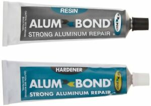 Alumbond Strong Aluminum Putty Repair Kit Epoxy Metal Weld For Aluminum 6 5oz