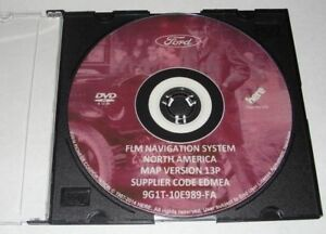 Latest Ford Lincoln Mercury 2015 Navigation Dvd Map Update 13p 9g1t 10e989 Fa