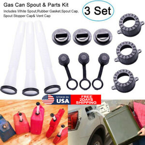 Gas Can Spout Universal Gas Tank Pour Spout Replacement Kit For Fuel Container