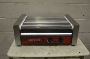 Avantco Rg1824 24 Hot Dog Roller Grill With 9 Rollers 120v 750w