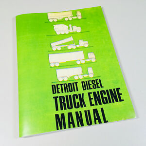 Detroit 53 Series Diesel Engines Operators Manual In Line 3 53 4 53 6v 53 8v 53