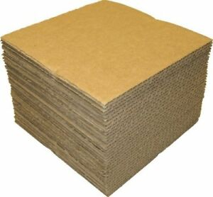 50 Lp Vinyl Record Insert Mailer Kraft Brown Cardboard Pad Scrapbook Package