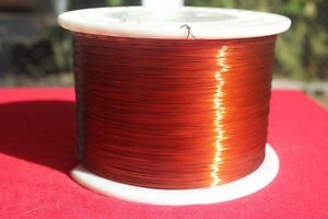 Magnetic Wire 24 Awg Gauge Enameled Copper 10lb 7905ft 200c Coil Winding