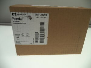 New Lot Of 100 Covidien Kendall Scalpel 15 Ref139093 Disposable Lab