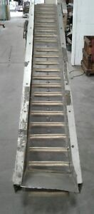 Laros Incline Conveyor Cleated Belt 96 In Long X 10 5 In 1452kw