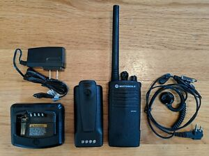 Motorola Rdx Rdv2020 Vhf Two way Radio Compatible With Rdm2070d