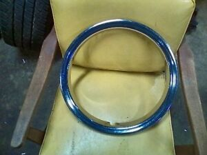 16 Trim Beauty Rings Covers Stainless Nos Chevy Gm Chrysler Ford Others