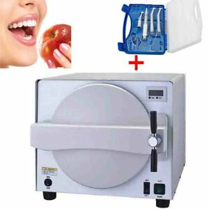 Dental Lab Autoclave Sterilizer Equipment Medical Steam Sterilizer 18l Handpiece